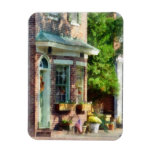 Sunny Afternoon New Castle DE Rectangle Magnet