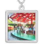 Sunny Afternoon on the Carousel Custom Necklace