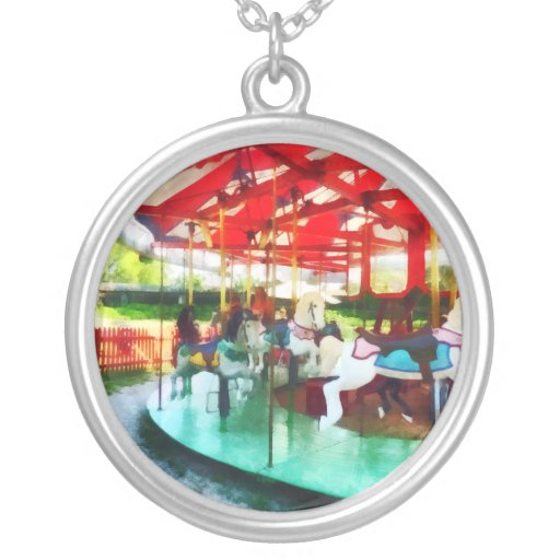 Sunny Afternoon on the Carousel Necklace
