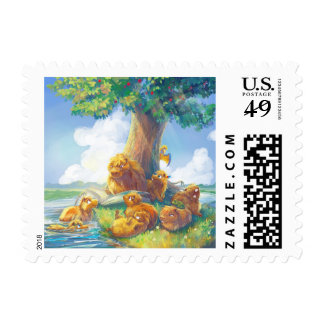 Sunny Afternoon Postage Stamp