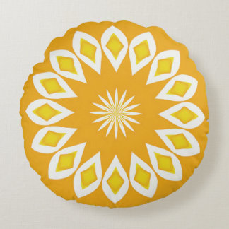 Sunny and Warmer Round Pillow