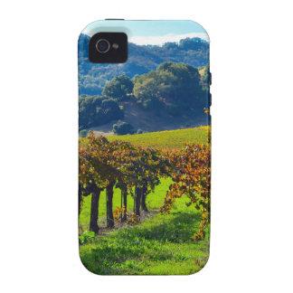 Sunny Autumn Vineyard Case-Mate iPhone 4 Cases