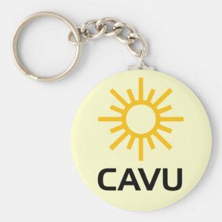 Sunny Aviation Lingo CAVU Keychain