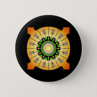 Sunny Baskets Pinback Button