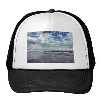 sunny beach day trucker hat