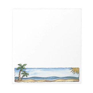 Sunny Beach Notepad