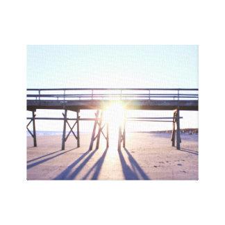 Sunny Beach Photo Canvas Print
