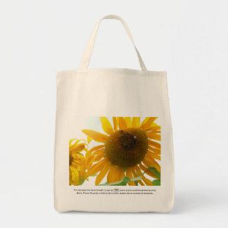 Sunny Bees Tote Bag