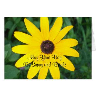 Sunny Birthday Black Eyed Susan Card