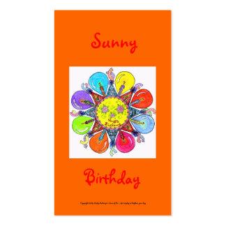 Sunny Birthday Series #1 Business Card