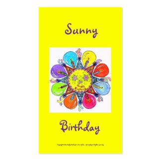 Sunny Birthday Series #4 Business Card