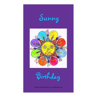 Sunny Birthday Series #5 Business Card