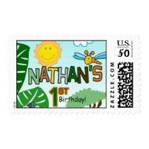 Sunny Birthday Stamp