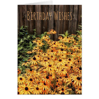 Sunny Birthday Wishes Card