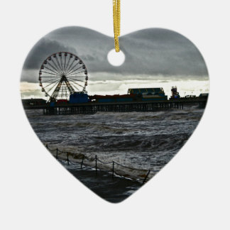 Sunny Blackpool Ceramic Ornament