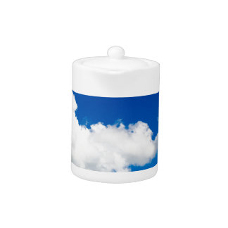 Sunny blue sky with white clouds