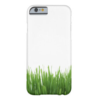 Sunny bright green grass earth photograph iPhone 6 case
