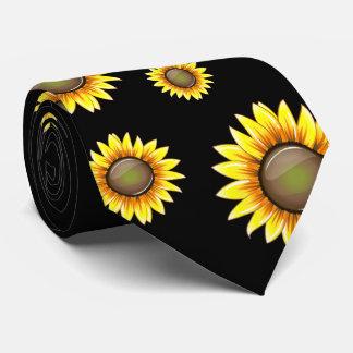 Sunny Bright Sunflower Neck Tie
