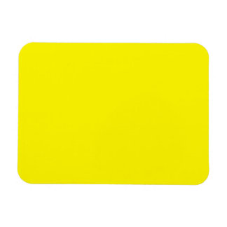 Sunny Bright Yellow Flexible Magnets
