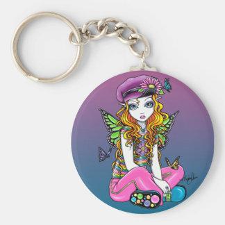 """""""Sunny"""" Butterfly Rainbow Fairy Keychain"""