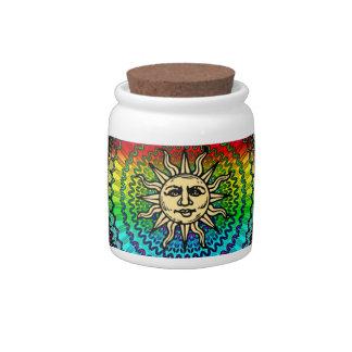 Sunny Candy Jar