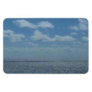 Sunny Caribbean Sea Blue Ocean Magnet