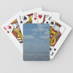 Sunny Caribbean Sea Blue Ocean Playing Cards