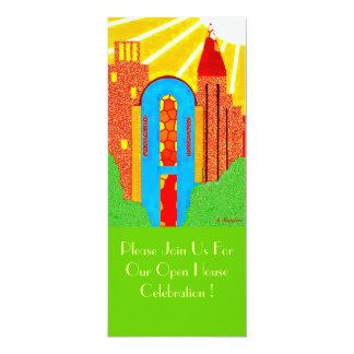 Sunny Castle Invitation