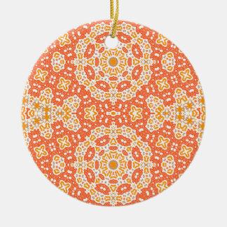 sunny ceramic ornament