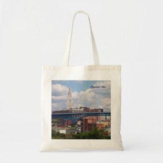 Sunny Cleveland Ohio Tote Bag