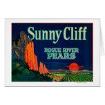 Sunny Cliff Pear Crate LabelMedford, OR