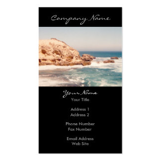 Sunny Cliff Photo Business Cards