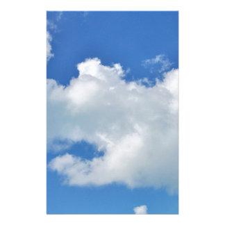 sunny cloud stationery