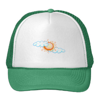 Sunny Clouds Hat