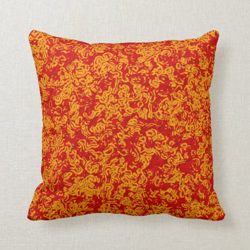 Sunny Colors Throw Pillow