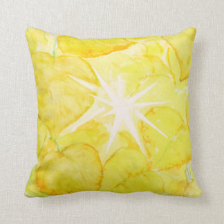 Sunny Cottonwood Candy Throw Pillow