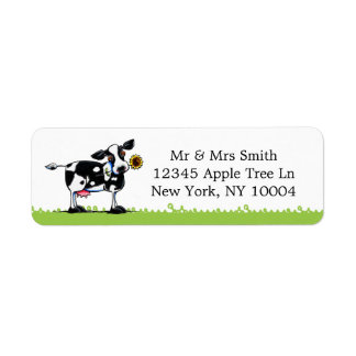 Sunny Cow Label
