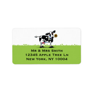 Sunny Cow White Sky Label