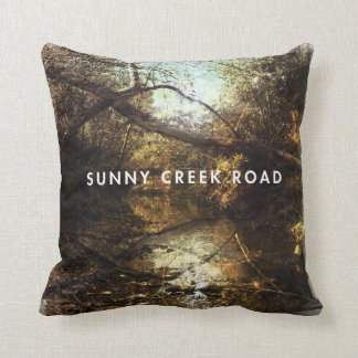 Sunny Creek Road - Cover Pillow