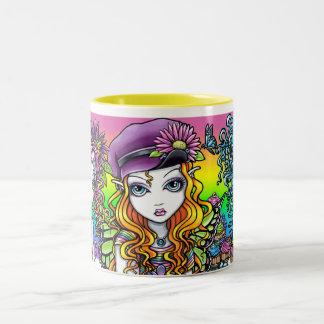 Sunny Crystal & Buttercup Rainbow Fairies Mug