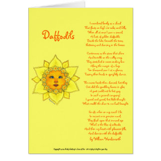 Sunny Daffodil - Greeting Card (Mother's Day)