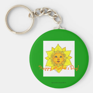 Sunny Daffodil Keychain