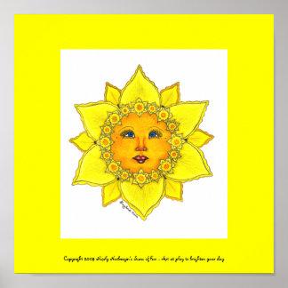 Sunny Daffodil - Poster