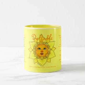 Sunny Daffodil -Two Tone Mug (yellow) #3
