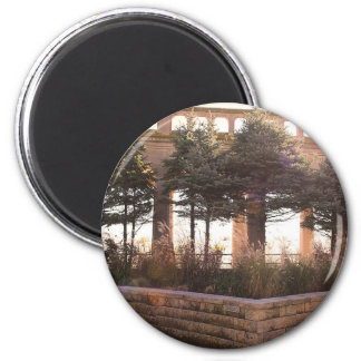 sunny day 2 inch round magnet