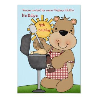 Sunny Day BBQ Invitation