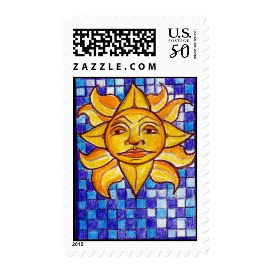 Sunny Day Blues Postage