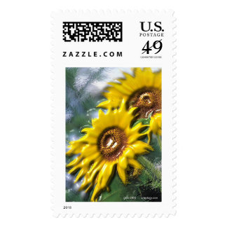 Sunny Day by Gregory Gallo Postage Stamp