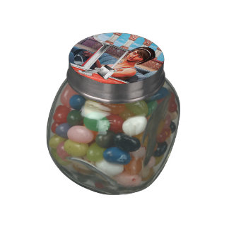Sunny Day Jelly Belly Candy Jars