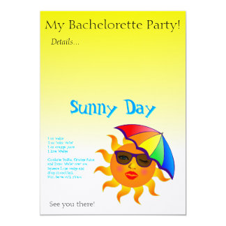 Sunny Day Drink Recipe Card